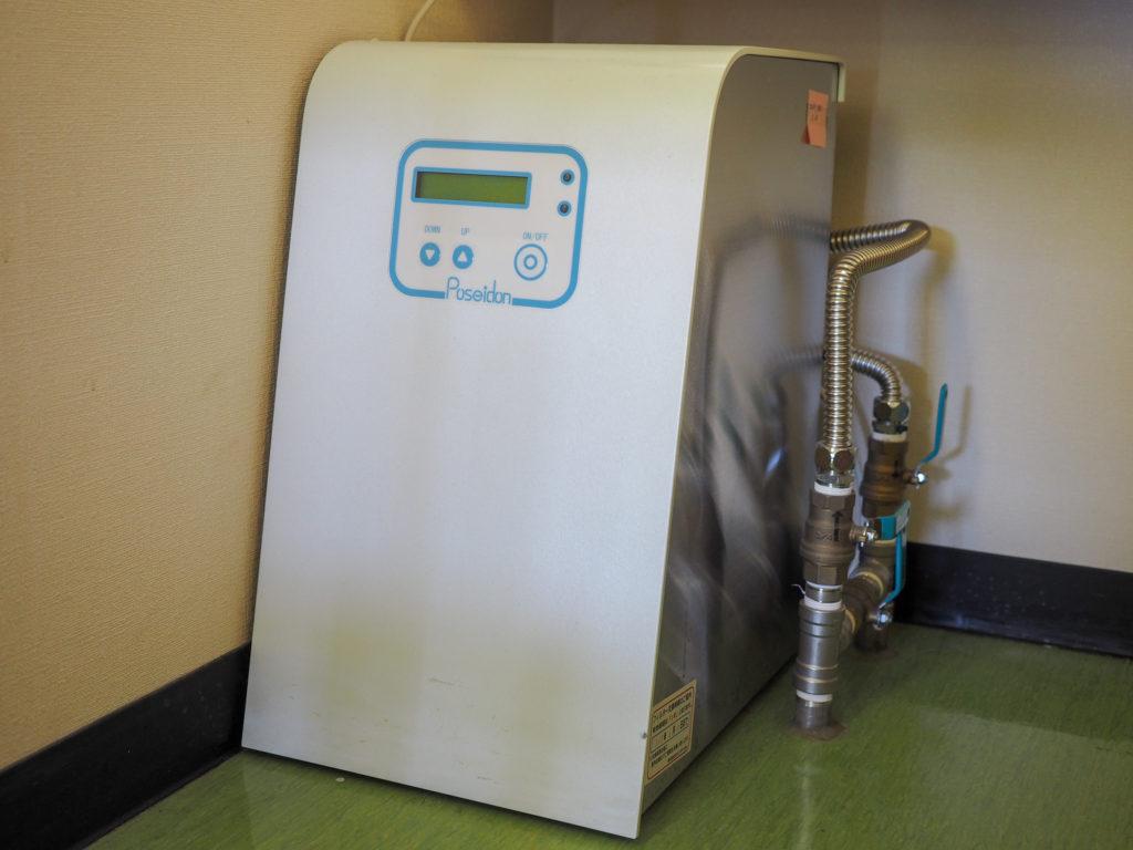 院内の水を除菌する装置