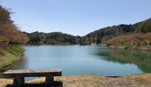 羽高湖にて